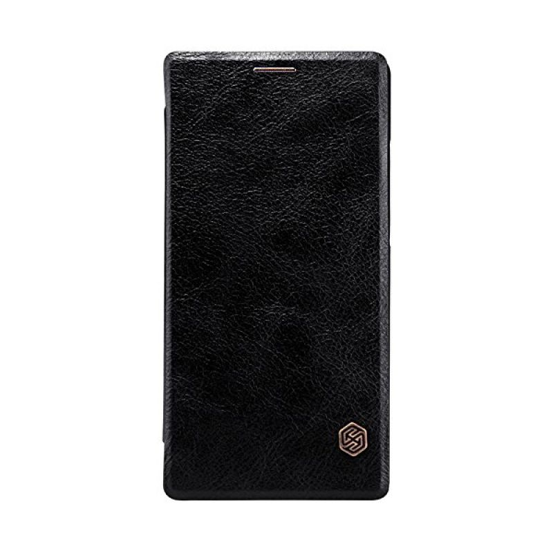 Nillkin Qin Leather Black Casing for Sony Xperia C4