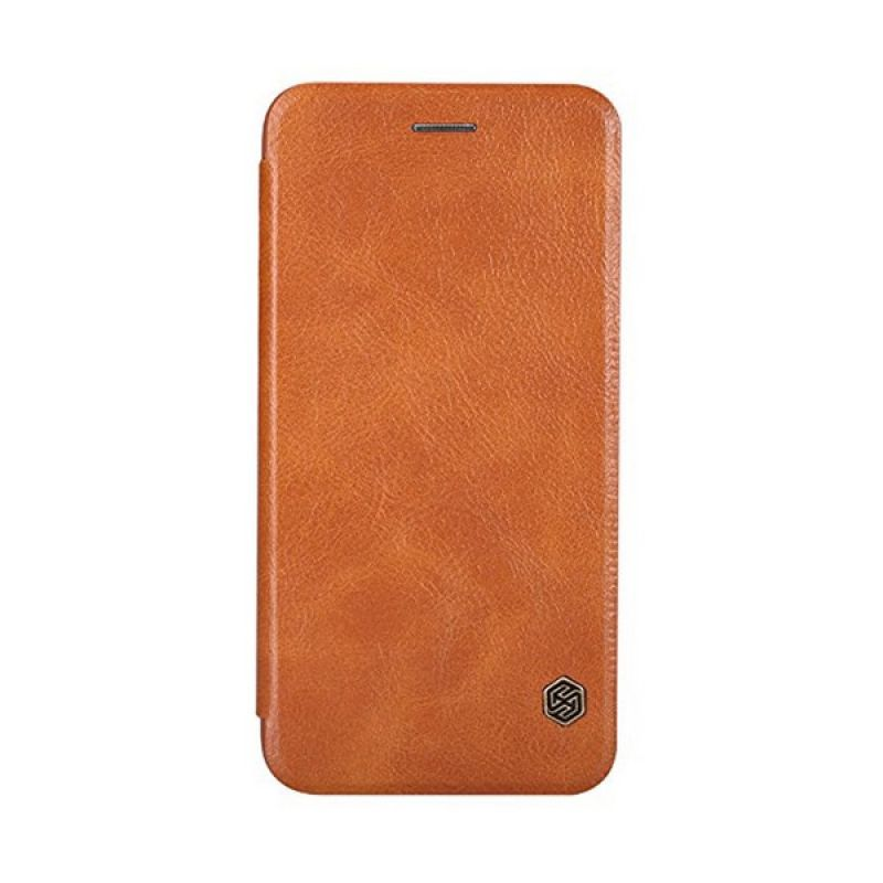 Nillkin Qin Leather Brown Casing for Apple iPhone 6 Plus or 6s Plus