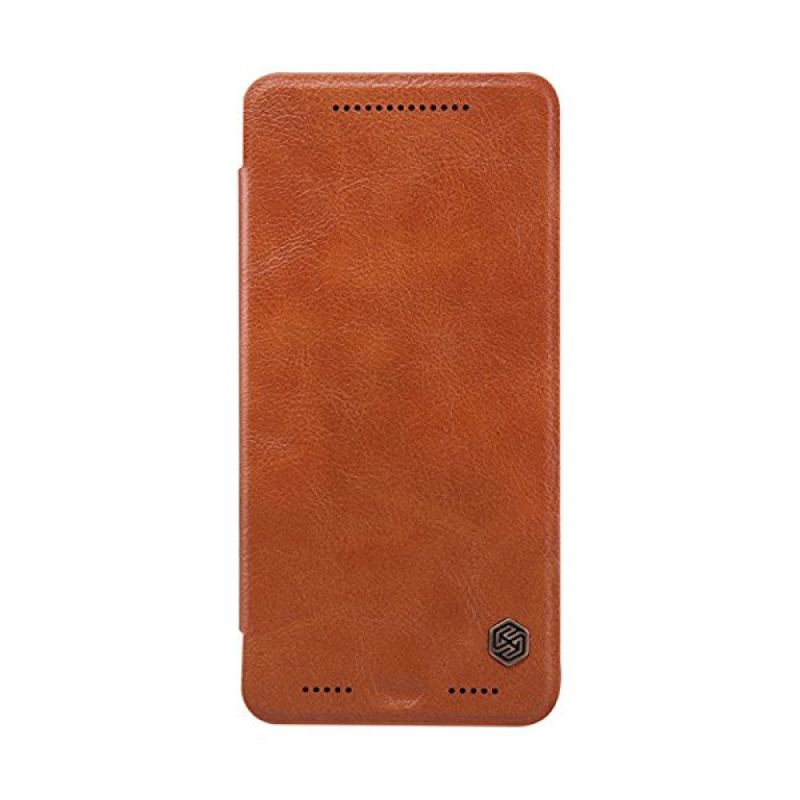 Nillkin Qin Leather Brown Casing for HTC One M9 Plus