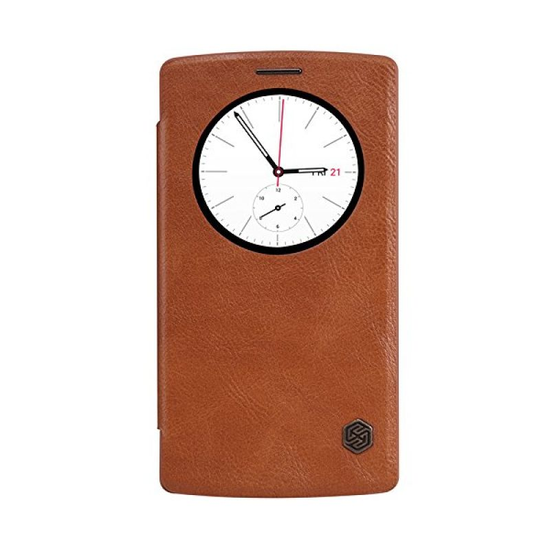 Nillkin QIN Leather Brown Casing for LG G4 Beat or G4S
