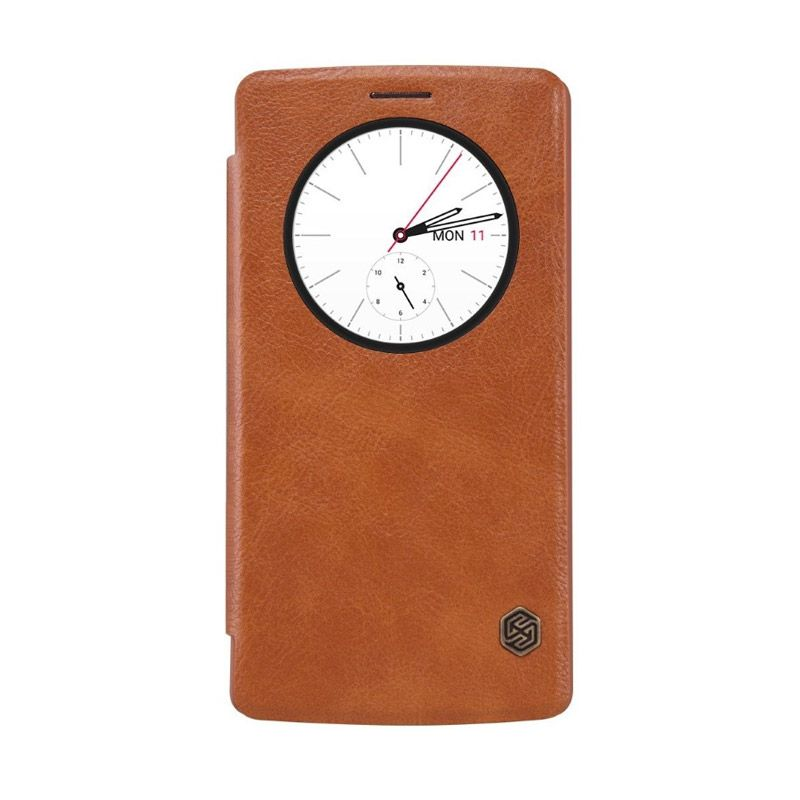 Nillkin Qin Leather Brown Casing for LG G4