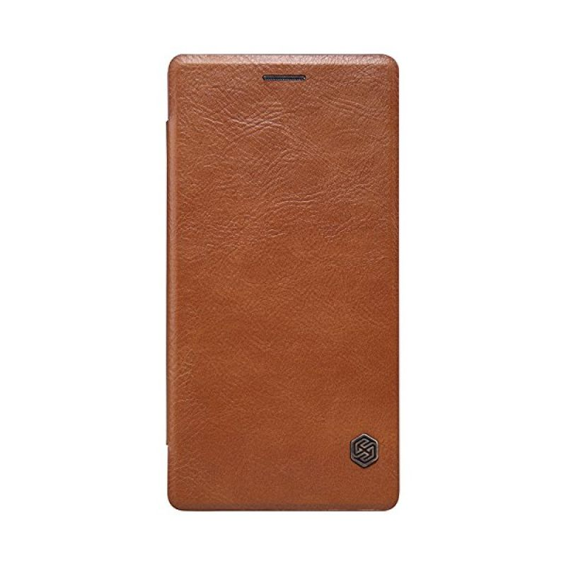 Nillkin QIN Leather Brown Casing for OnePlus 2