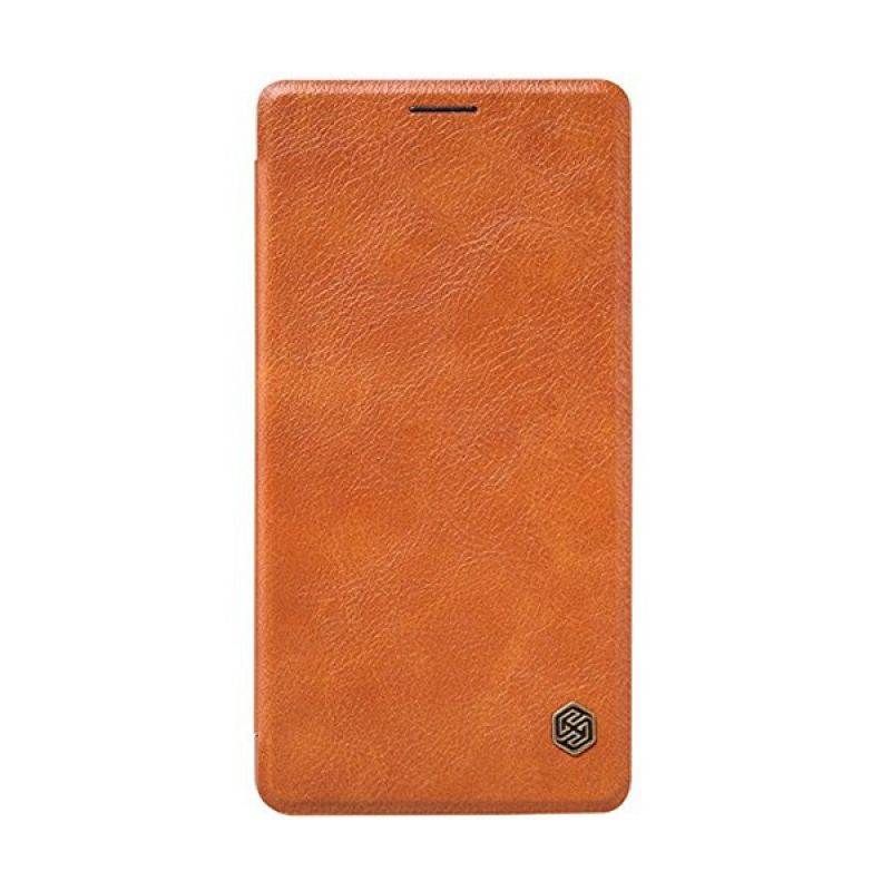 Nillkin QIN Leather Brown Casing for Samsung Galaxy A7 A700