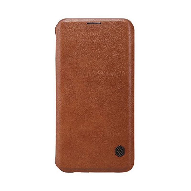 Nillkin QIN Leather Brown Casing for Samsung Galaxy S6 Edge Plus