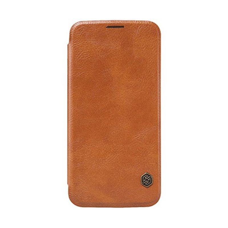 Nillkin QIN Leather Brown Casing for Samsung Galaxy S6 G920F