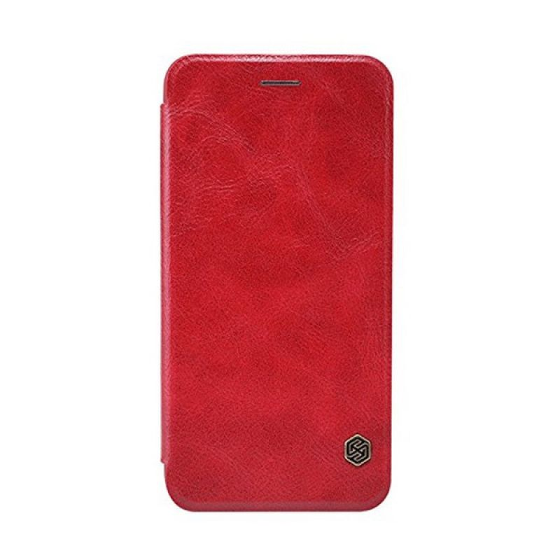 Nillkin Qin Leather Red Casing for Apple iPhone 6 Plus or 6s Plus