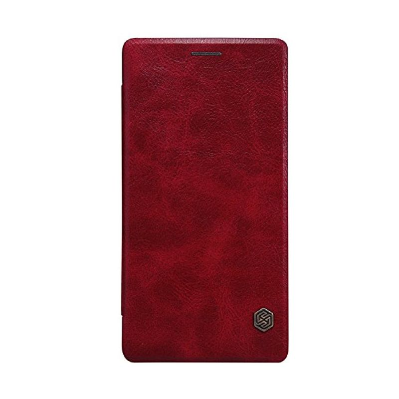 Nillkin QIN Leather Red Casing for OnePlus 2