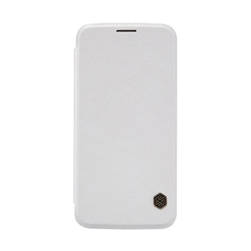 Nillkin QIN Leather White Casing for Samsung Galaxy S6 G920F