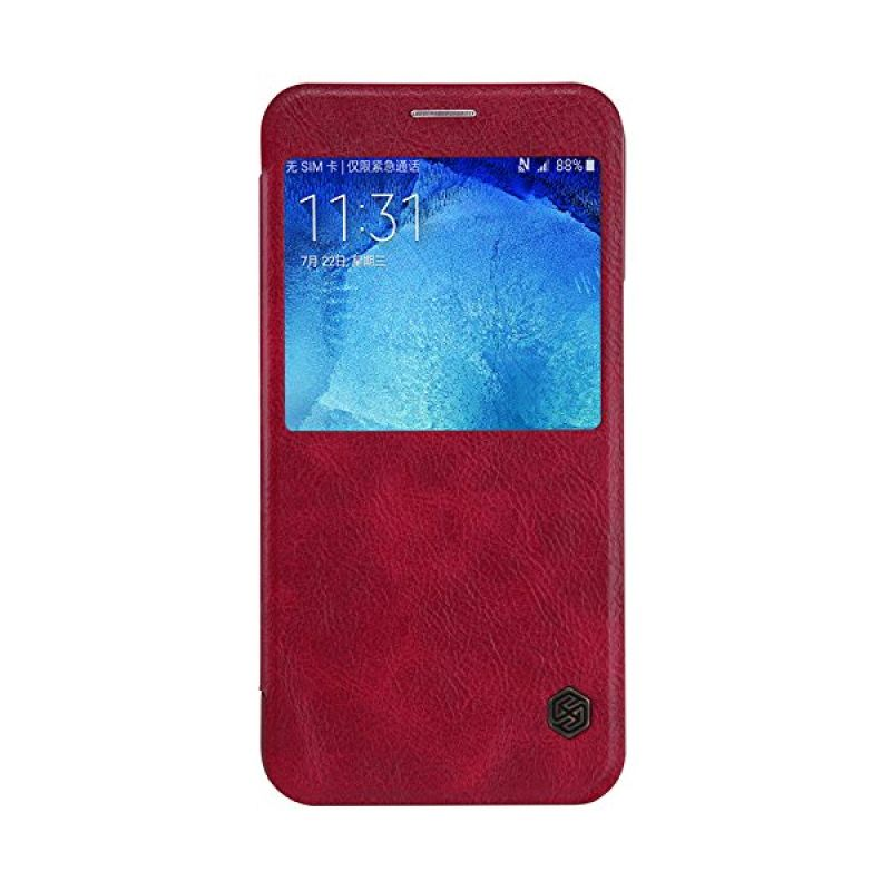 Nillkin QIN Leather Red Casing for Samsung Galaxy A8 A8000
