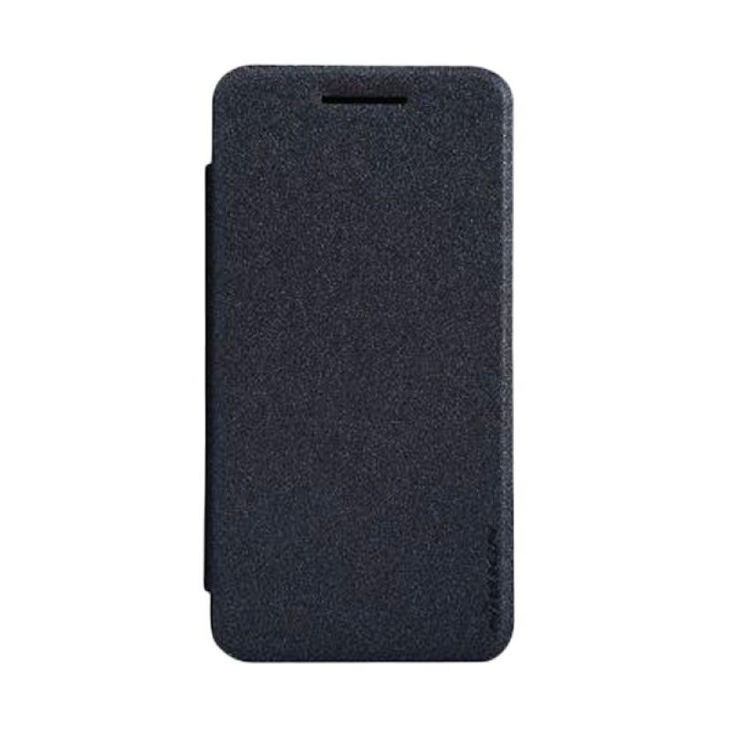 Nillkin Sparkle Leather Black Casing for Asus Zenfone 4