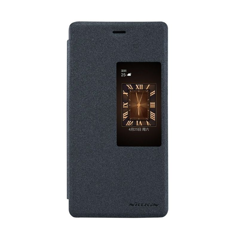 Nillkin Sparkle Leather Black Casing for Huawei Ascend P8
