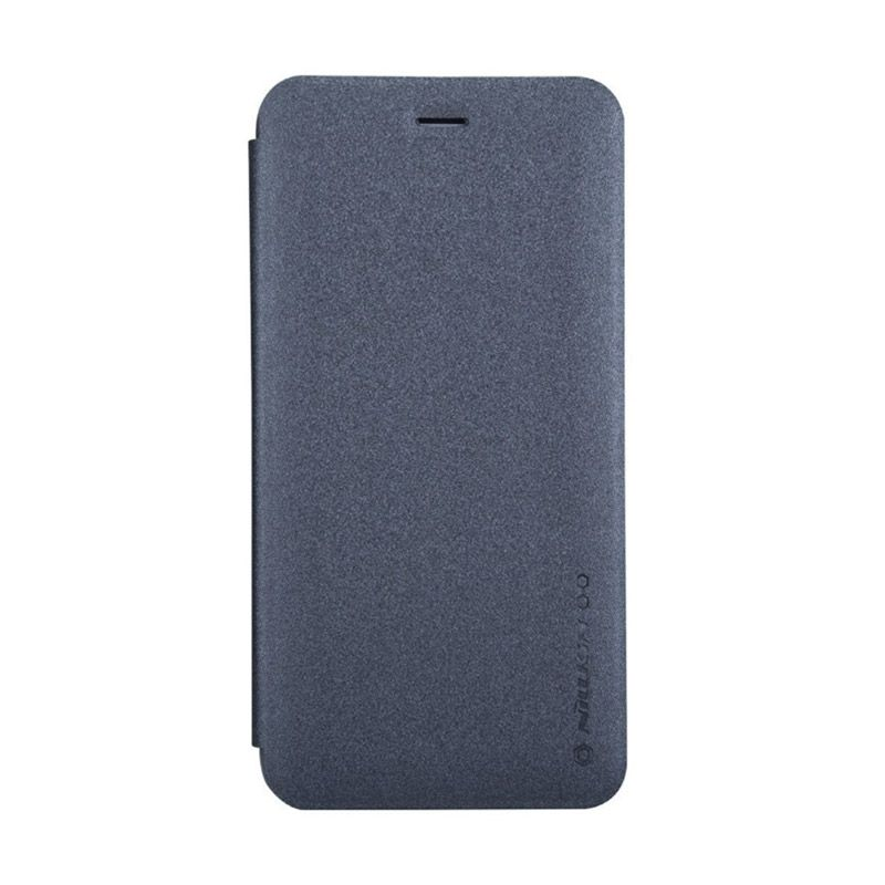 Nillkin Sparkle Leather Black Casing for iPhone 6 [4.7 Inch]