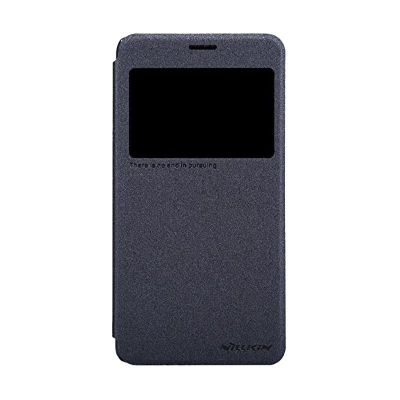 Nillkin Sparkle Leather Black Casing for Lenovo S850