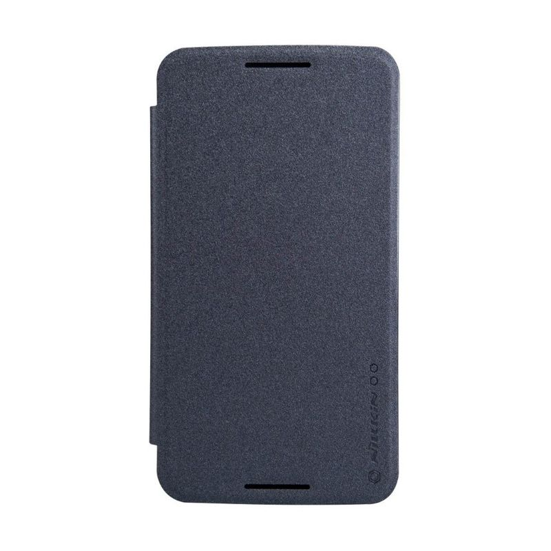 Nillkin Sparkle Leather Black Casing for Motorola Moto Nexus 6