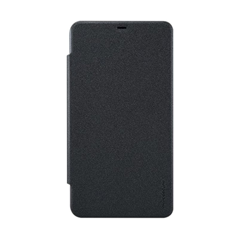 Nillkin Sparkle Leather Black Casing for Nokia Lumia 640 XL
