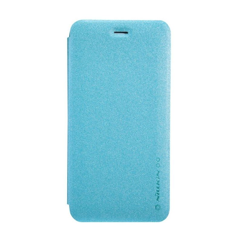 Nillkin Sparkle Leather Blue Casing for iPhone 6 Plus [5.5 Inch]