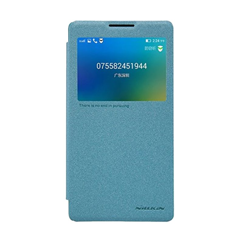 Nillkin Sparkle Leather Blue Casing for Lenovo P90