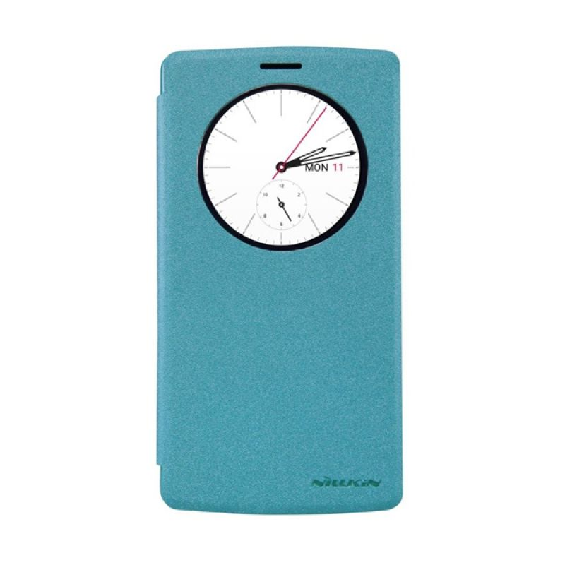 Nillkin Sparkle Leather Blue Casing for LG G4