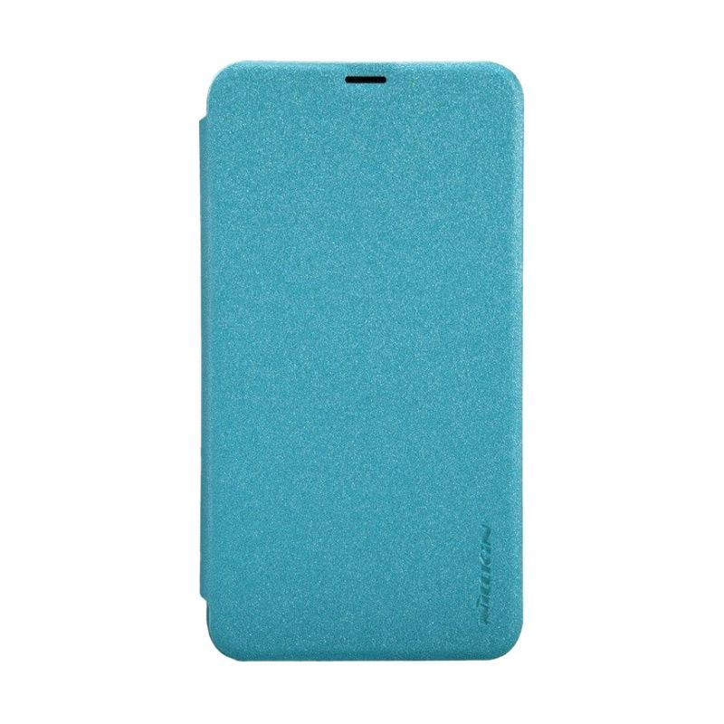 Nillkin Sparkle Leather Blue Casing for Nokia Lumia 630