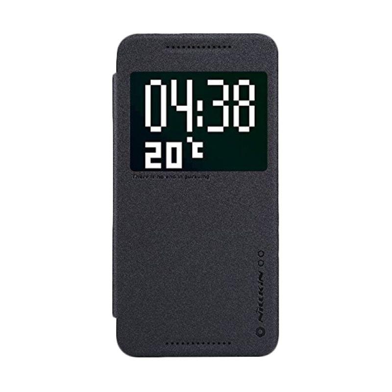 Nillkin Sparkle Leather Black Casing for HTC One E9 Plus E9+