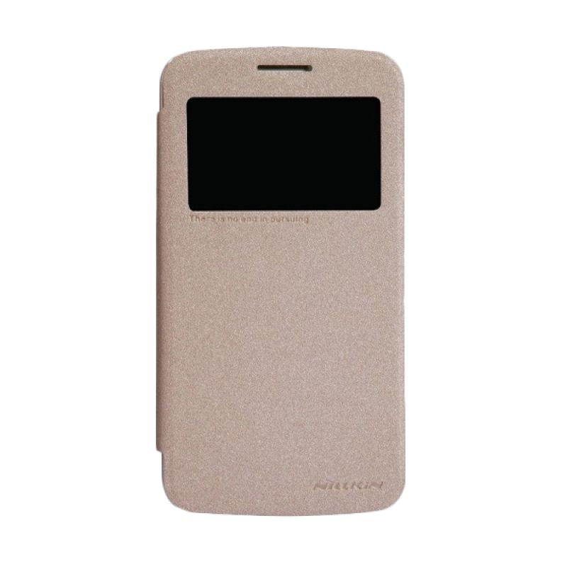 Nillkin Sparkle Leather Gold Casing for Samsung Galaxy Grand 2 G7102/G7106