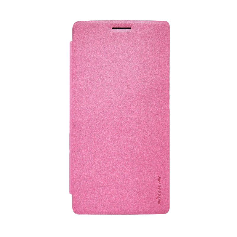 Nillkin Sparkle Leather Case Pink Casing for OnePlus 2