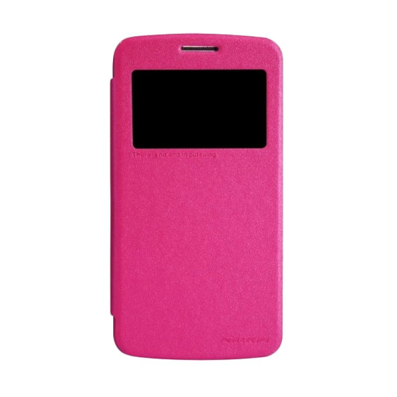 Nillkin Sparkle Leather Pink Casing for Samsung Galaxy Grand 2 G7102/G7106