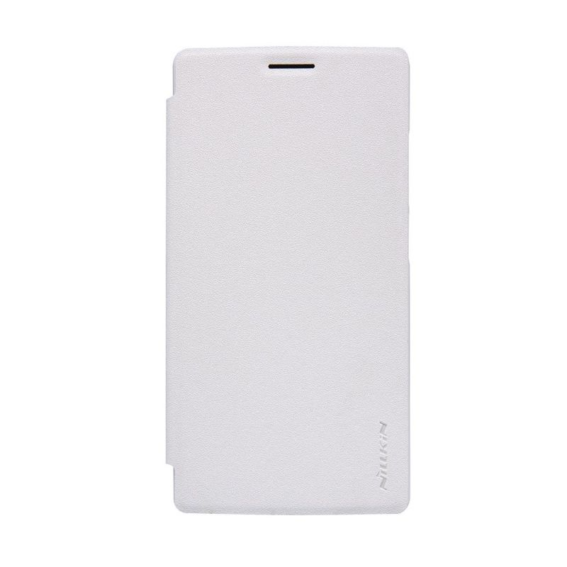 Nillkin Sparkle Leather Case White Casing for OnePlus 2