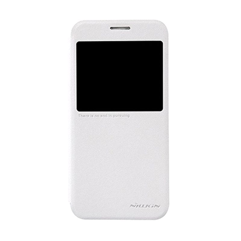 Nillkin Sparkle Leather White Casing for Samsung Galaxy S6 G920F