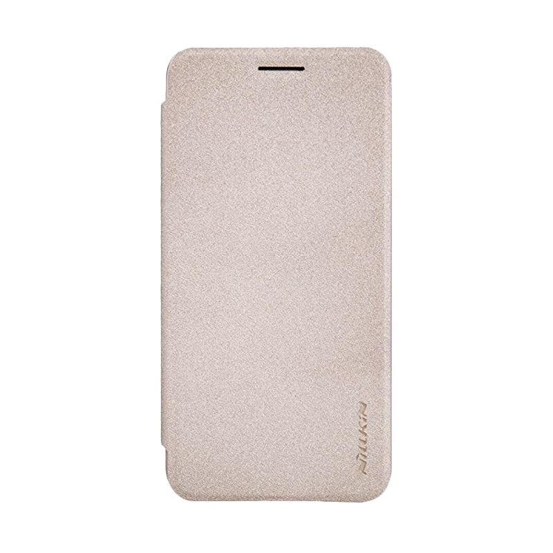 Nillkin Sparkle Leather Gold Casing for Asus Zenfone C ZC451CG