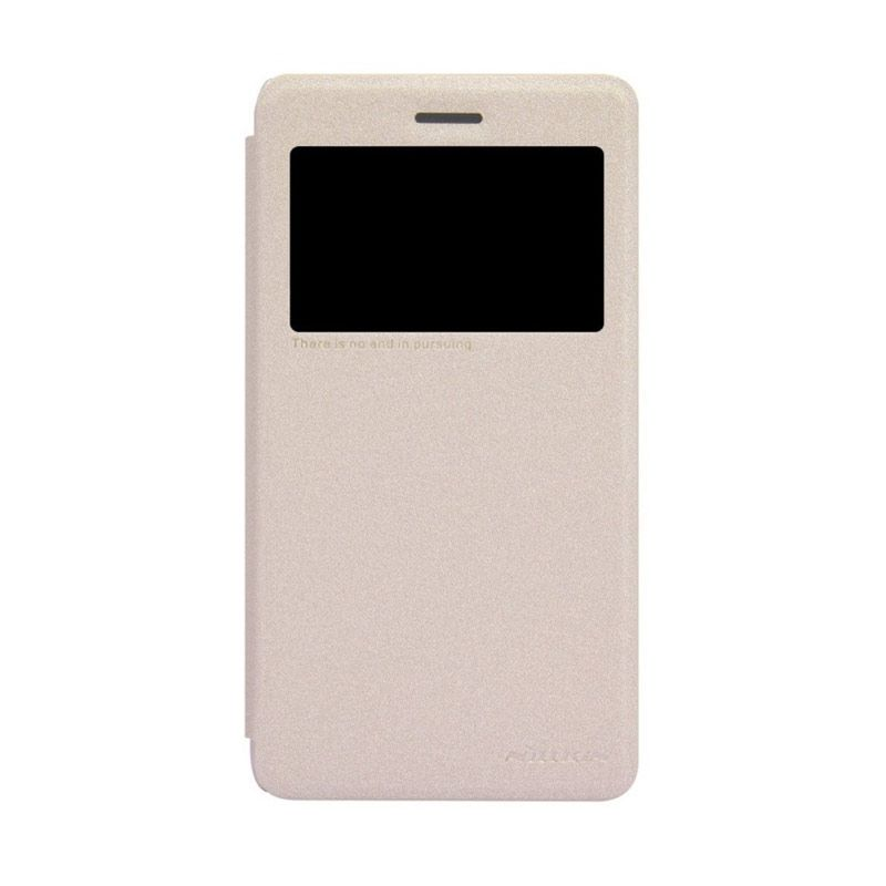 Nillkin Sparkle Leather Gold Casing for Lenovo S860