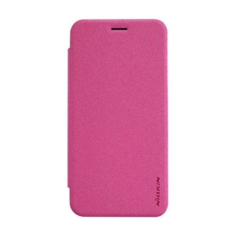 Nillkin Sparkle Leather Pink Casing for Asus Zenfone 2 5 ZE500CL