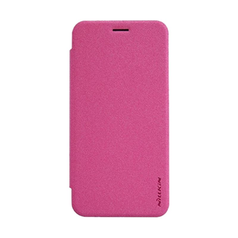 Nillkin Sparkle Leather Pink Casing for Asus Zenfone 2