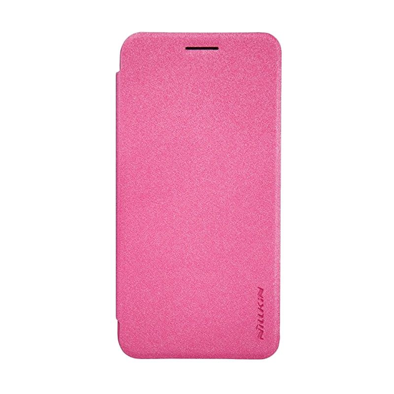 Nillkin Sparkle Leather Pink Casing for Asus Zenfone C ZC451CG