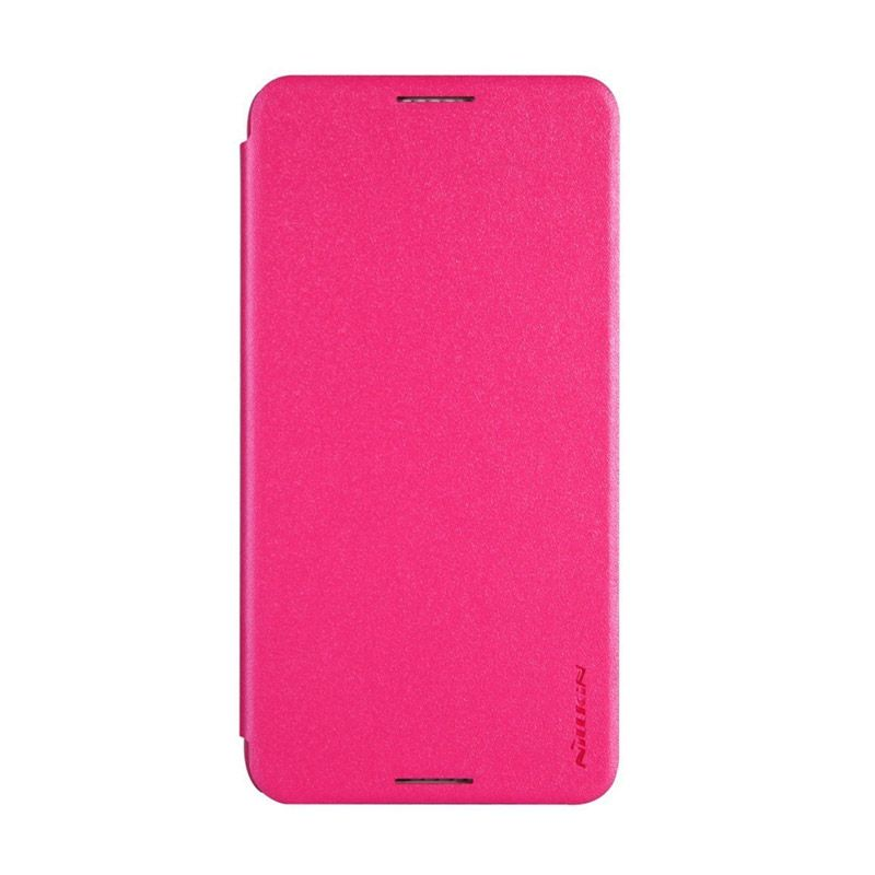 NILLKIN Sparkle Leather Pink Casing for HTC Desire 816