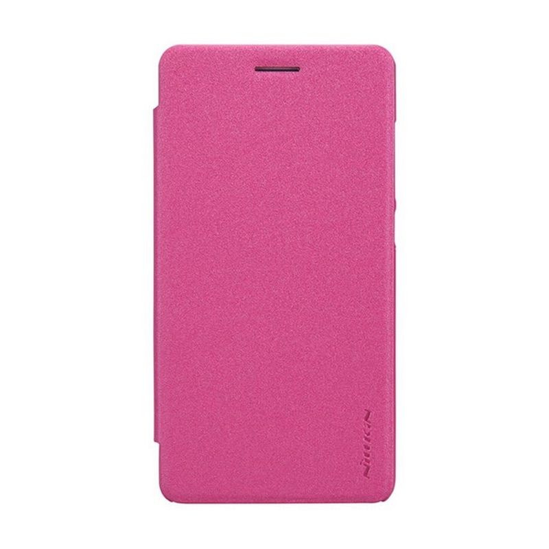 Nillkin Sparkle Leather Pink Casing for Huawei Honor 4C