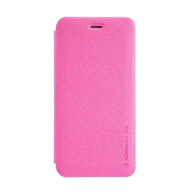 Nillkin Sparkle Leather Pink Casing for iPhone 6 [4.7 Inch]