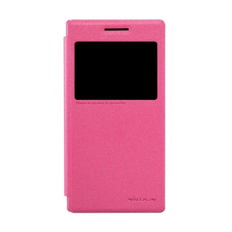 Nillkin Sparkle Leather Pink Casing for Lenovo P70