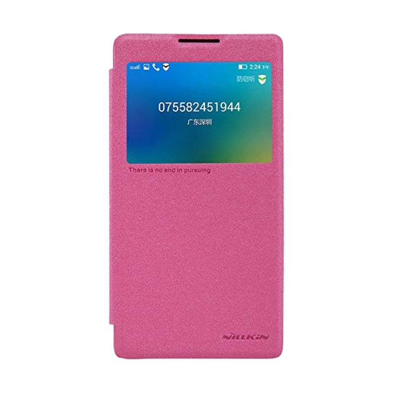 Nillkin Sparkle Leather Pink Casing for Lenovo P90