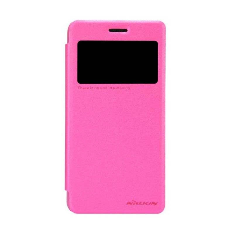 Nillkin Sparkle Leather Pink Casing for Lenovo S660