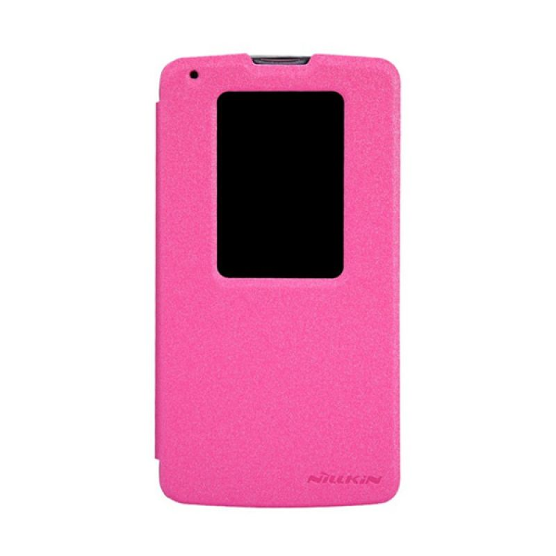NILLKIN Sparkle Leather Pink Casing for LG G Pro 2 D838