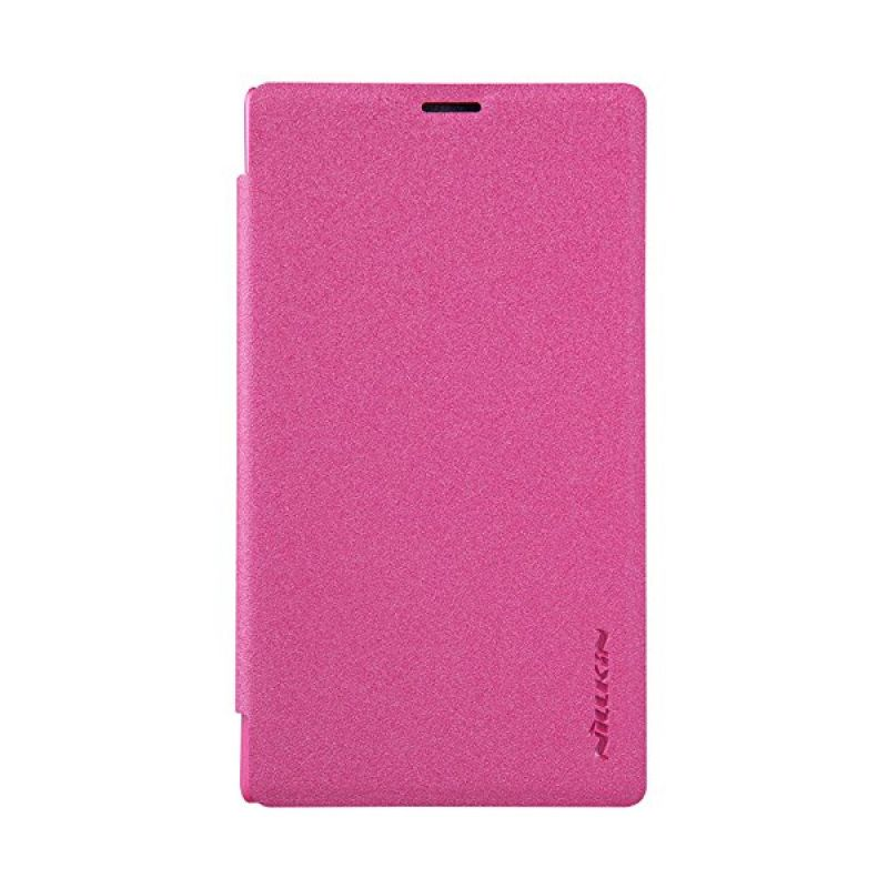 Nillkin Sparkle Leather Pink Casing for Nokia Lumia 532