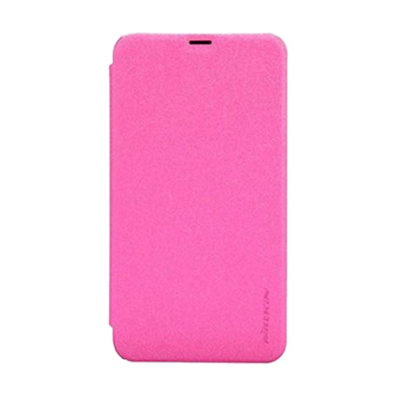 Nillkin Sparkle Leather Pink Casing for Nokia Lumia 630