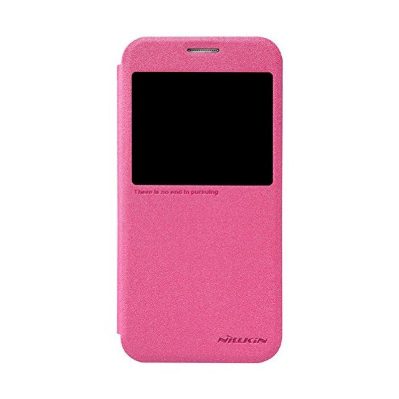 Nillkin Sparkle Leather Pink Casing for Samsung Galaxy S6 G920F