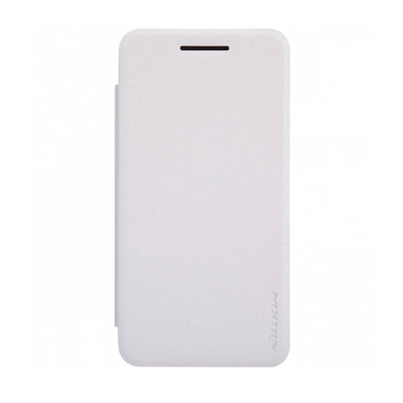 Nillkin Sparkle Leather White Casing for Asus Zenfone 4