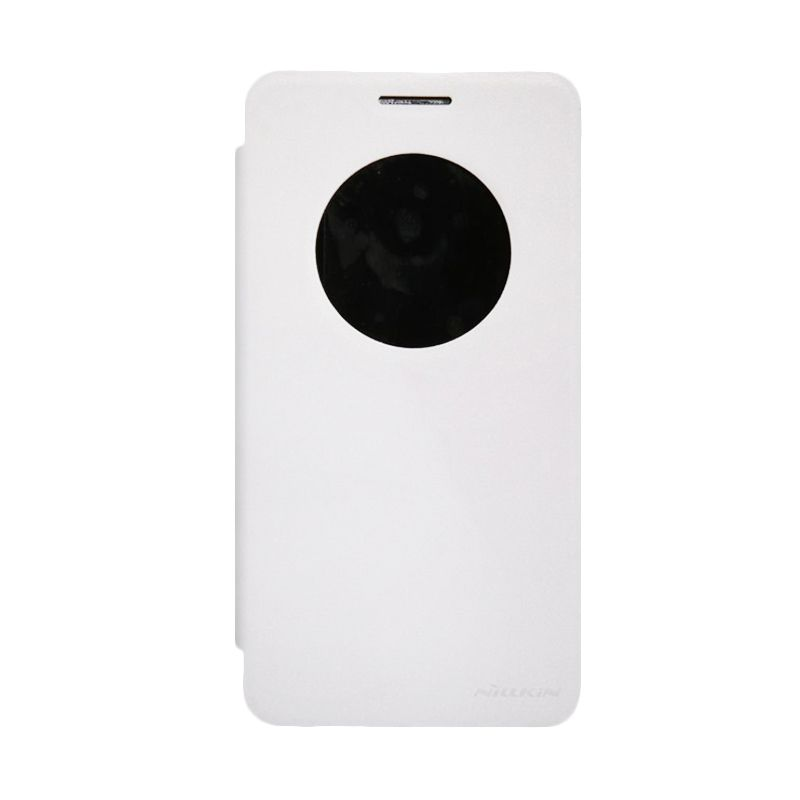 Nillkin Sparkle Leather White Casing for Asus Zenfone 6
