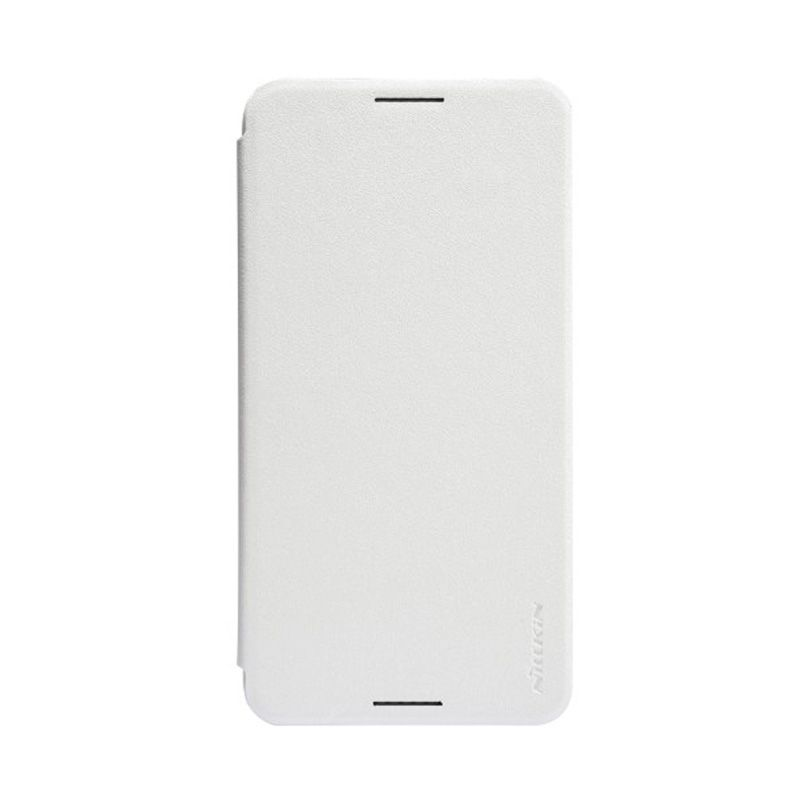 NILLKIN Sparkle Leather White Casing for HTC Desire 816