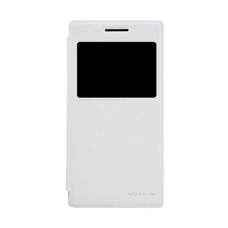 Nillkin Sparkle Leather White Casing for Lenovo P70