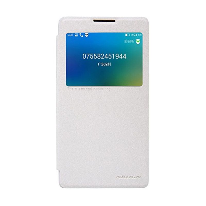 Nillkin Sparkle Leather White Casing for Lenovo P90