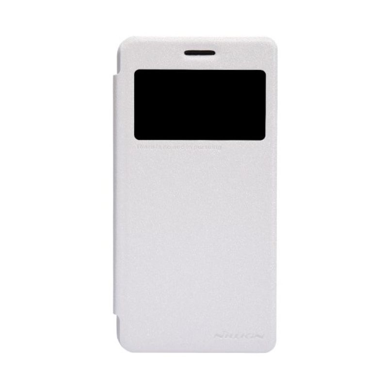 Nillkin Sparkle Leather White Casing for Lenovo S660